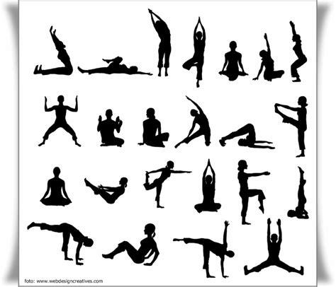 gambar tutorial gerakan yoga gerakan senam lantai
