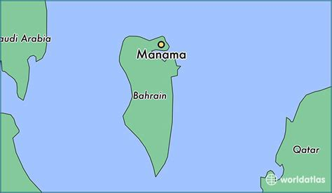 where is bahrain on a world map where is manama bahrain manama manama map