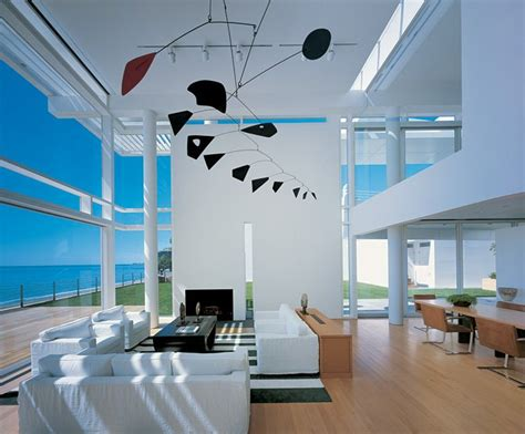 beachfront house in california modern house with white exterior paint by richard