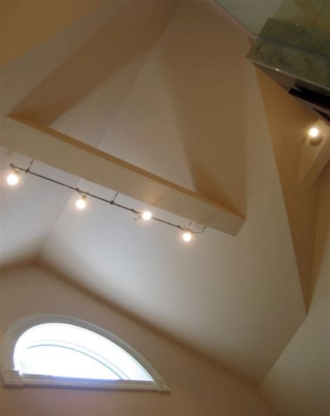 Track Lighting On Vaulted Ceiling 172 Best Images About Loft On Pinterest