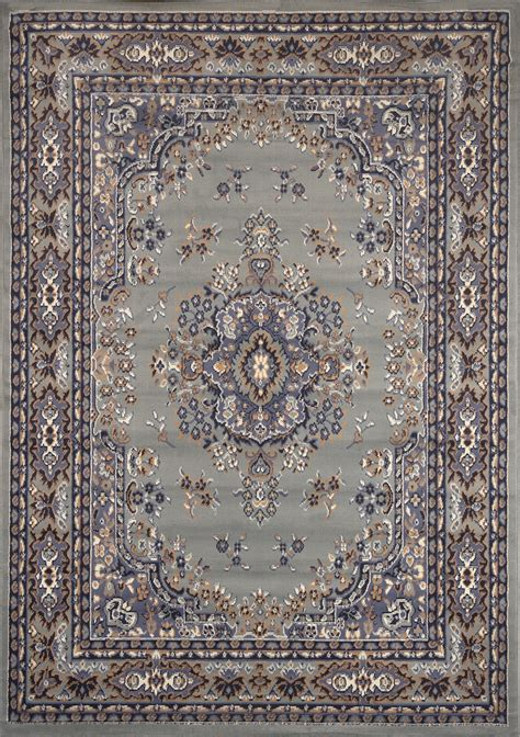 Silver Gray Area Rugs Large Traditional 8x11 Area Rug Style Carpet Approx 7 8 Quot X10 8 Quot Ebay