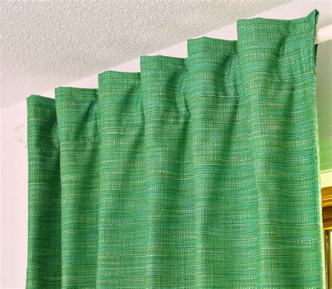 how to make back tab curtains diy back tab curtains