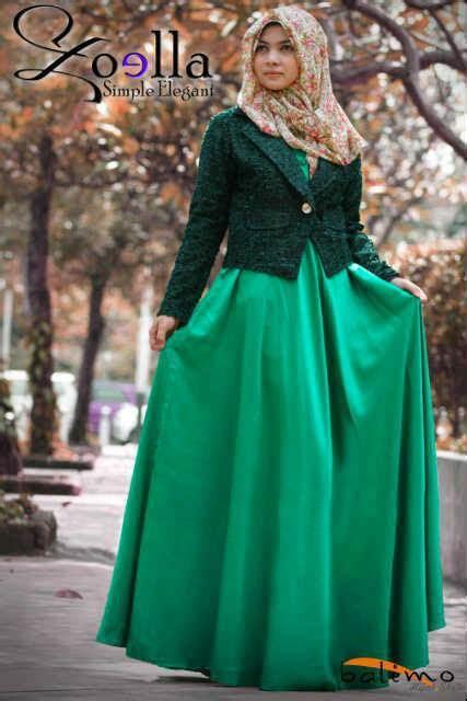 Vanya New Hijau Grosir Baju Muslim Baju Gamis Baju Murah busana muslim koleksi terbaru