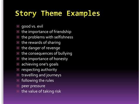 themes in short stories exles ppt digital storytelling powerpoint presentation id