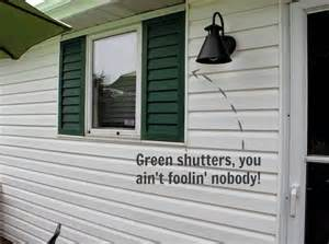 How To Add Curb Appeal - easy diy shutters the creek line house