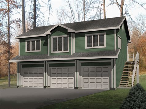 Garage With Upstairs Apartment Kit Laycie 3 Car Garage Apartment Plan 059d 7504 House Plans