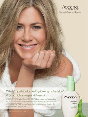 celebrity endorsed skin care products jennifer aniston actress celebrity endorsements