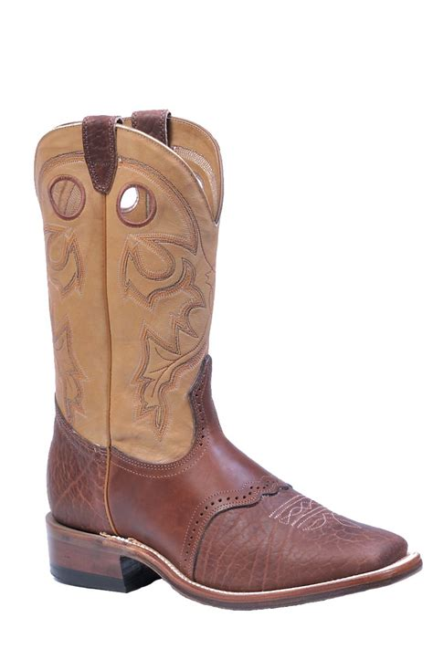 wide mens cowboy boots boulet men s cowboy boots with wide square toe 8152 the
