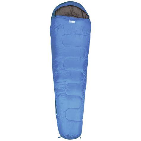Sleeping Bag Mummy highlander sleepline 300 mummy sleeping bag royal blue