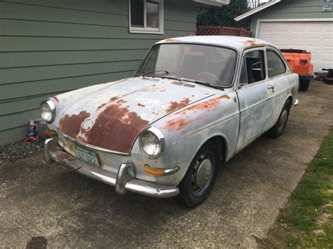 vw fastback project  sale buy classic volks