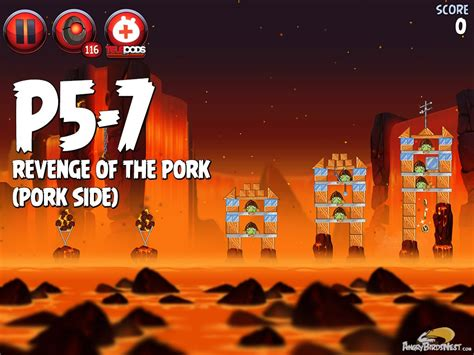 angry birds wars ii of the pork p5 15 angry birds wars 2 of the pork level p5 7