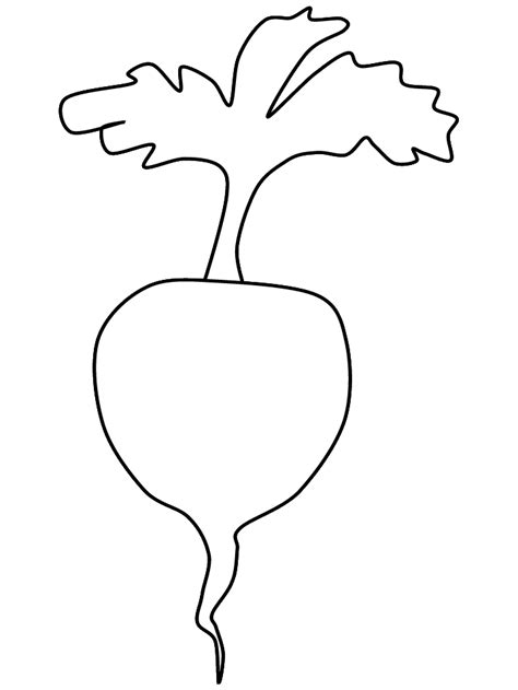 free the turnip coloring pages