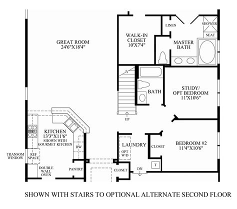 floor plan stairs house plan with a double staircase joy studio design