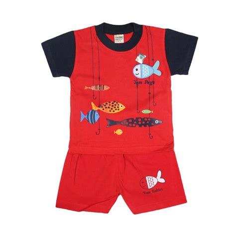 Baju Anak Laki Setelan Singlet Oblong Tompege Tp 5797 jual tompege tp 2123b oblong setelan baju anak laki laki merah harga kualitas
