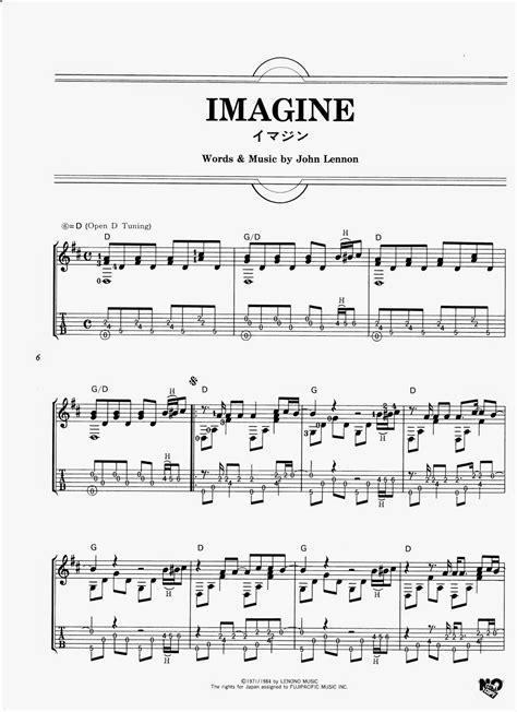 imagenes john lennon acordes partituras para guitarra john lennon imagine