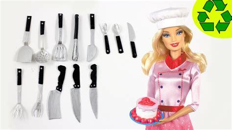 Cutlery Kitchen Knives diy miniature realistic kitchen utensils cutlery