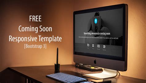free responsive coming soon page template 12 free coming soon website templates for web developers