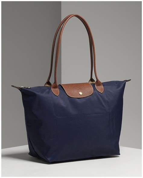 Longch Le Pliage Slh Navy longch le pliage in navy medium products i longch navy and bag