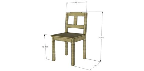 Dining Chair Plans Free Free Plans To Build A Dining Chair 3 Designs By Studio C