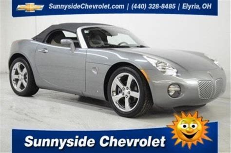 car owners manuals free downloads 2006 pontiac solstice user handbook find used 2006 pontiac solstice manual transmission performance chrome wheels low miles in