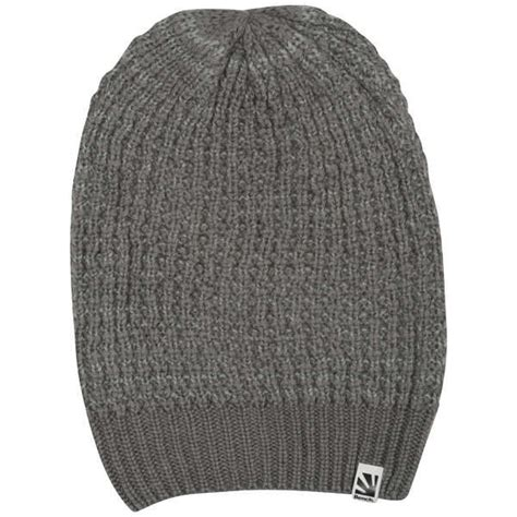 bench beanie hat bench felen oversized chunky knit beanie hat clothing