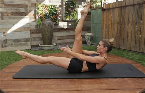pilates exercises  strengthen  transverse abdominis