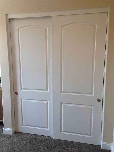 closet with sliding door for bedroom sliding closet doors frames and how to take care for them