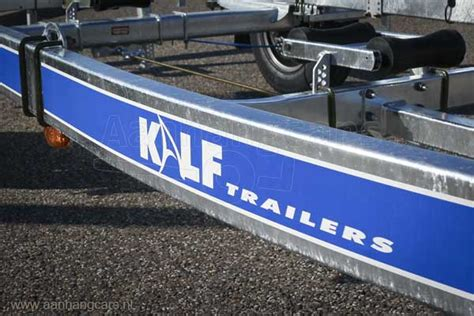 boottrailer chassis kalf trailers