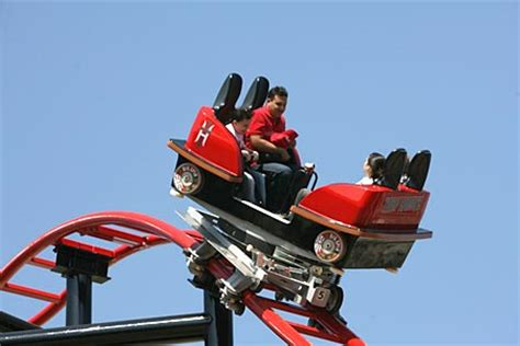Roller Coaster Cars tony hawk s big spin six flags st louis and artwork