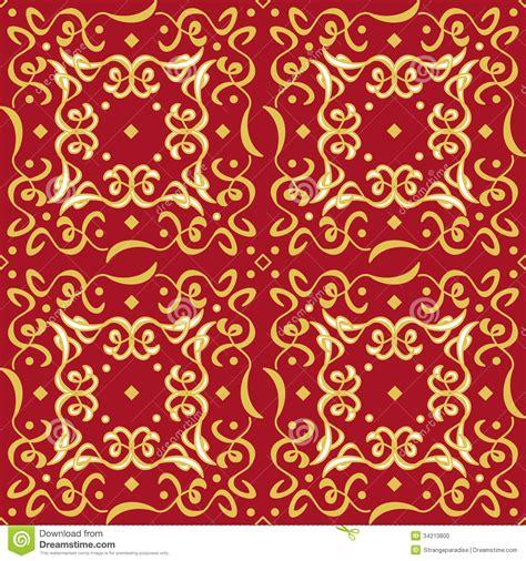 christmas pattern gold refined seamless golden pattern decoration stock photo