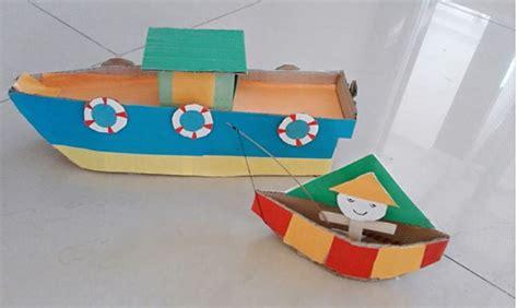 membuat jam mainan dari kardus cara membuat kapal dari kardus bekas kreasi miniatur kapal
