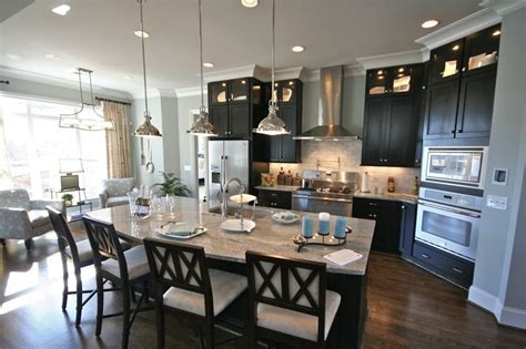 kitchen and lounge design combined celebration homes view gallery kitchen celebration homes