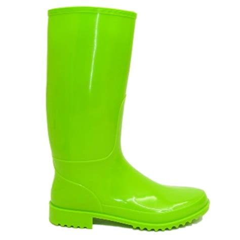 lime green boots lime green wellies wellington boot size 4 8 ebay