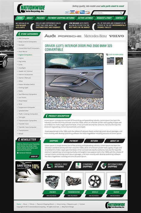 Ebay Listing Template Design Services Responsive Html Templates Design Ebay Template Design