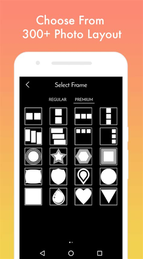 layout app not square square fit size layout photo editor collage android