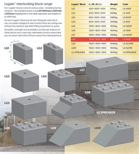 Interlocking Blocks Interlocking Concrete Blocks Legato Concrete Blocks