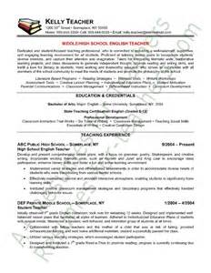 Resume Sample For Teacher by Teacher Resume English Teacher Resume Sample Teacher