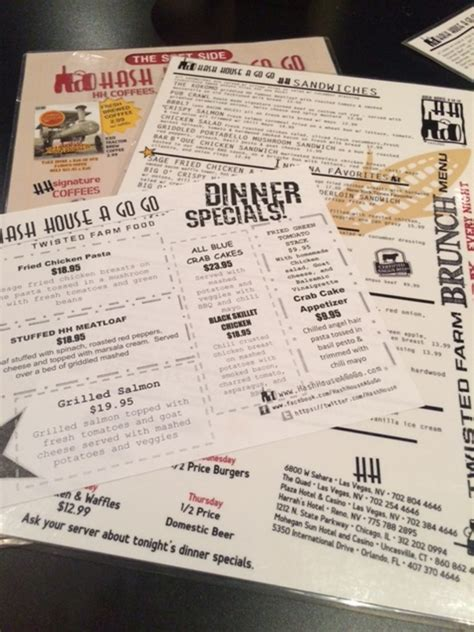 hash house menu hash house a go go chicago menu 28 images hash house a