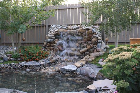 Backyard Water Feature Ideas by Water Feature Yard Garden Ideas