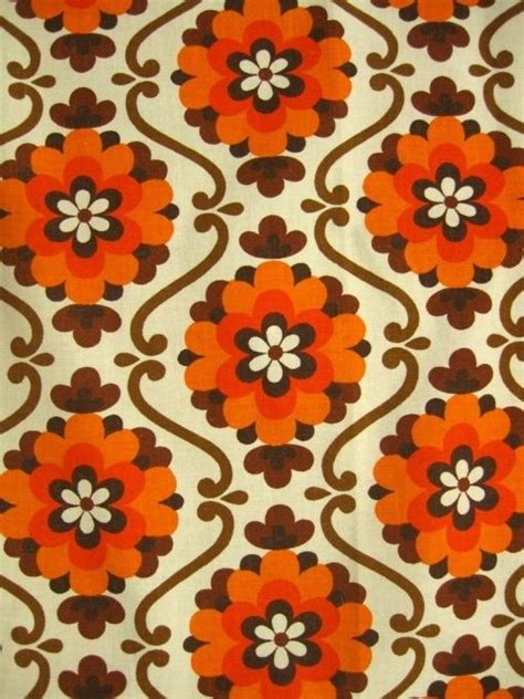 70s Fabric by 39 Best Prints Images On Prints Retro