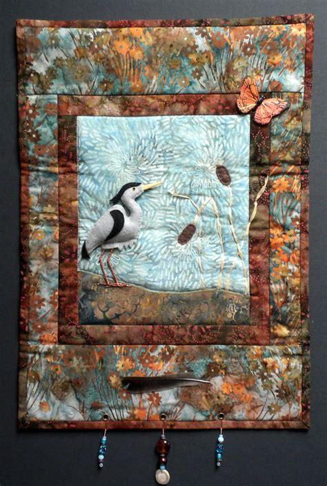 art quilt pattern blue heron art quilt pattern