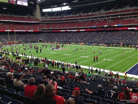 Section 8 In Ta Fl by Nrg Stadium Section 102 Houston Texans Rateyourseats