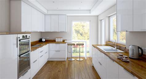 imagenes cocinas integrales blancas de 100 fotos de decoraci 243 n de cocinas blancas y grises