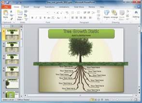 Roots Template by Best Animations For Powerpoint Presentations