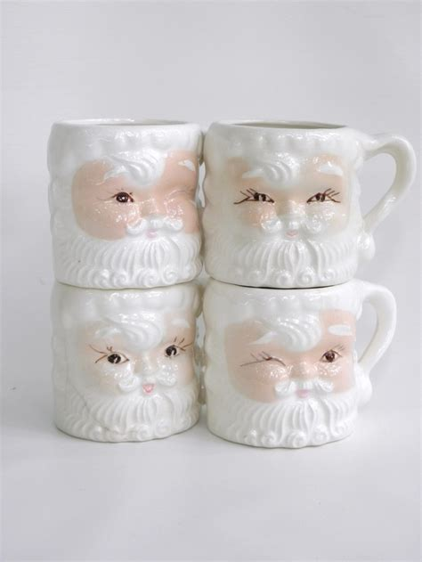 Mug Natal Santa Claus 193 best part 4 images on retro