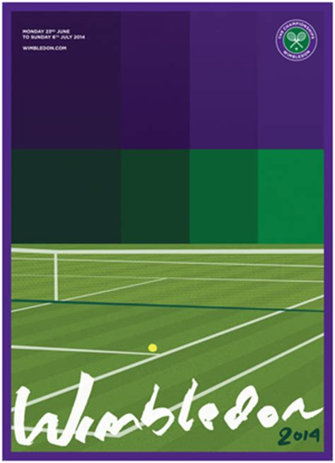 Wimbledon Winning Money - wimbledon reveals winning design in poster contest