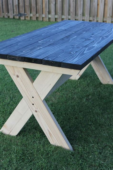 build  farmhouse picnic table diy picnic table