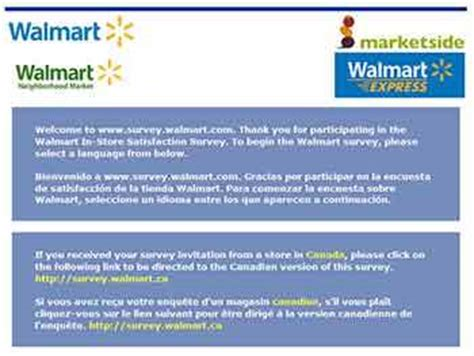 Walmart Surveys For Money - www survey walmart com 1 000 walmart survey sweepstakes