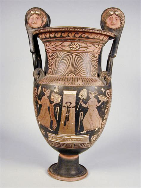 vasi greci a figure rosse i vasi della collezione greca museo percorsi i vasi