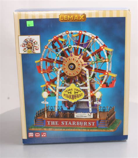 the starburst ferris wheel lemax collection the starburst ferris wheel ln box ebay